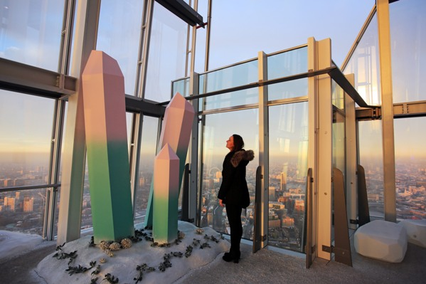 Opening today (23rd November) The Height of Winter immersive experience created by Bompas & Parr at The Shard Viewing Gallery, 800ft above London. For more information contact Stacey Wright -Stacey.Wright@theviewfromtheshard.com or 07741 262025